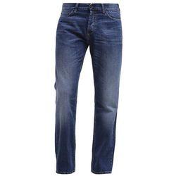 Carhartt WIP MARLOW Jeansy Straight leg blue strand washed, kolor niebieski