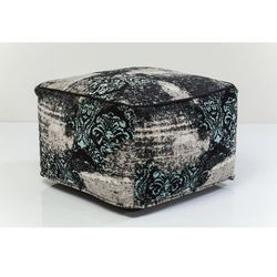 :: puf kelim ornament turquise marki Kare design