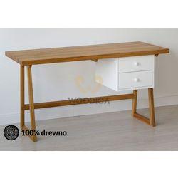 Biurko/Sekretarzyk dębowy 01 120x60