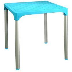stół mp1351 viva, jasnoniebieski marki Mega plast