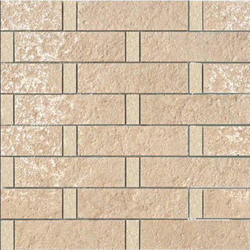 PALACE STONE Mosaici Listoni Su Rete Rosa/Almond 39,4x39,4 (G-55) z kategorii glazura i terakota