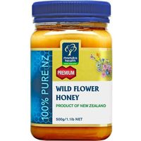 Manuka health new zealand ltd Miód nektarowy wielokwiatowy wild flower 500g