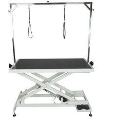 Stół z podnośnikiem elektrycznym, blat 125x65 cm, regulacja wys. 25x95 cm marki Shernbao