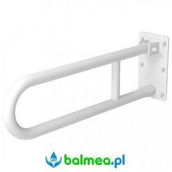 Poręcz uchylna dla niepełnosprawnych 700 mm sw b marki Faneco