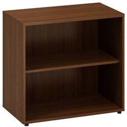 Szafa dostawna Classic bez drzwi, 800 x 450 x 742 mm, orzech