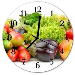 Zegar ścienny okrągły Warzywo