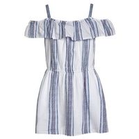 Abercrombie & Fitch Sukienka letnia white/blue/red