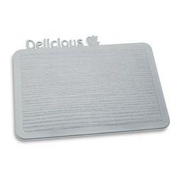 Koziol Deska Śniadaniowa Happy Boards Delicious szara - k3262632 - produkt z kategorii- Deski kuchenne