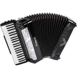 fr 8 x black akordeon cyfrowy, klawiszowy, marki Roland