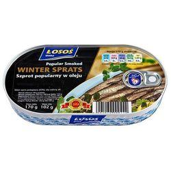 SZPROT POPULARNY W OLEJU WINTER SPRATS 170G z kategorii Konserwy i przetwory rybne