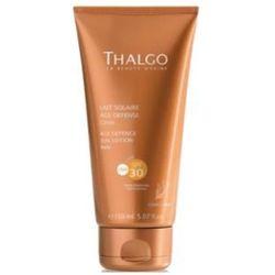 Thalgo AGE DEFENCE SUN LOTION SPF30 Przeciwzmarszczkowe mleczko do opalania SPF 30 (VT4385) - sprawdź w wybra