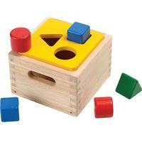 Plan toys  zabawka do sortowania kształtów, kategoria: zabawki drewniane