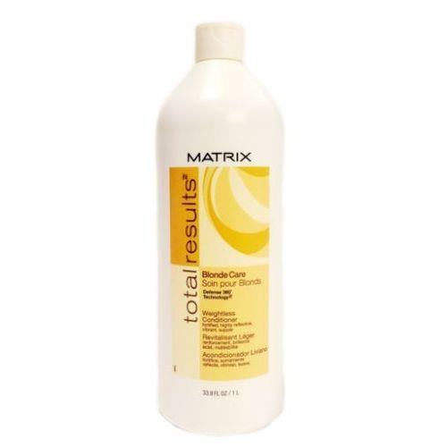 Matrix Total Results Blonde Care - Odżywka do włosów blond 1000ml (pielęgnacja włosów)