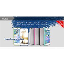 Obudowa PURO Bumper Cover iPhone 6 4.7 folia ochronna Szary z kategorii Futerały i pokrowce do telefonów
