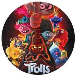 Dekoracyjny opłatek tortowy trolle 2 world tour - 20 cm marki Smakop