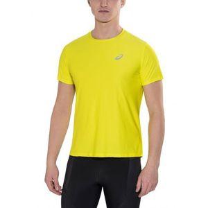 2e9c21e997c3e1 asics SS Top Koszulka do biegania Mężczyźni żółty Koszulki do biegania  krótki rękaw (8717999994266)