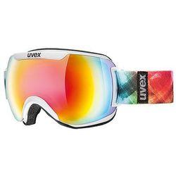 Gogle narciarskie  downhill 2000 fm białe/rainbow od producenta Uvex