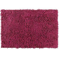 Wenko Dywanik łazienkowy chenille, malinowy, 80 x 50 cm, (4008838621073)
