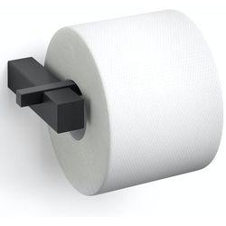 - carvo - uchwyt na papier toaletowy, czarny marki Zack