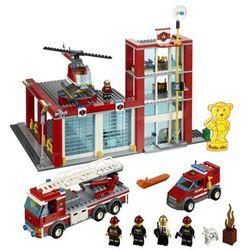 Lego City REMIZA STRAŻACKA 60004, klocki do zabawy