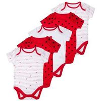 mothercare LADYBIRD 5 PACK Body red