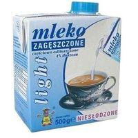 500g 4% light mleko zagęszczone niesłodzone   darmowa dostawa od 150 zł! od producenta Gostyń
