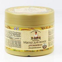 Agafii maska do włosów drożdżowa porost włosów 300ml wyprodukowany przez Receptury babuszki agafii
