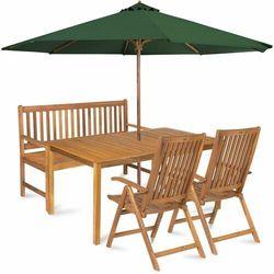 calypso 5 z parasolem, zielony marki Fieldmann