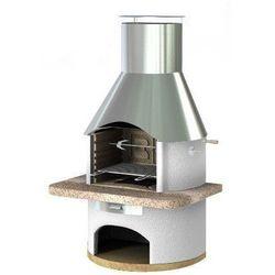 Grill betonowy z wędzarnią Rondo wersja 4 z kategorii grille