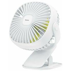 Baseus Box Clamping | Regulowany przenośny wiatrak wentylator biurkowy z klipsem 3 tryby + lampka nocna