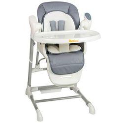 Baninni wysokie krzesełko ugo, szare, bndt001-gy (5420038786007)