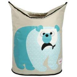 Kosz na pranie - miś polarny marki 3 sprouts