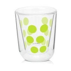 Zak! - Szklanka 75 ml z podw. ściankami, zielona (0707226816551)