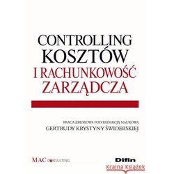 Controlling kosztów i rachunkowość zarządcza, pozycja wydana w roku: 2012