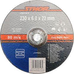 Tarcza do szlifowania metalu 230 x 6,0 x 22 mm / 08193 / STHOR - ZYSKAJ RABAT 30 ZŁ