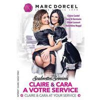 Marc dorcel (fr) Dvd marc dorcel - soubrettes services: claire & cara at your service (3393600813536)