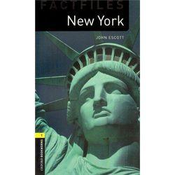 New Oxford Bookworms Library 1 New York Factfile, pozycja z kategorii Literatura obcojęzyczna