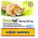 Bayer Drontal tabletki na pasożyty dla kotów 2tabl./op. (5909990034383)