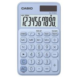 Kalkulator CASIO SL-310UC-LB Niebieski (4549526700125)