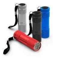 Mini latarka aluminiowa 1W ALTAIR 9 diód LED