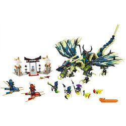 Lego Ninjago Atak Smoka Moro 70736 (dziecięce klocki)