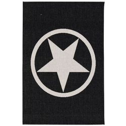 Dekoria Dywan Modern Star black/wool 67x130cm, 67x130cm