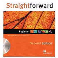 Straightforward beginner Workbook with answer key + CD (opr. miękka)