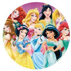 Modew Dekoracyjny opłatek tortowy princess - księżniczki - 20 cm - 1