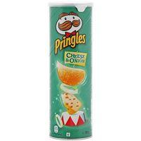 Pringles 165g cheese&onion chipsy serowo-cebulowe | darmowa dostawa od 150 zł! marki Pringels