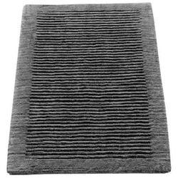 Dywanik łazienkowy Cawo ręcznie tkany 120 x 70 cm antracytowy