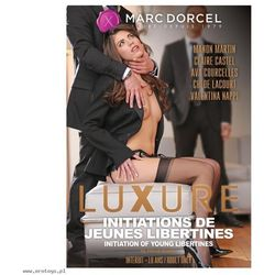 DVD Marc Dorcel - Luxure: Initiation of Young Libertines (film erotyczny)