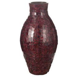 wazon suri, bordowy, 56 cm, wys. 56cm marki Dekoria