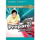 Cambridge English Prepare! 3 Student's Book + online workbook - Wysyłka od 3,99 (opr. miękka)