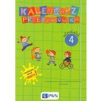 Kalendarz przedszkolaka Czterolatek Teczka + Czarodziejskie obrazki (9788326222917)